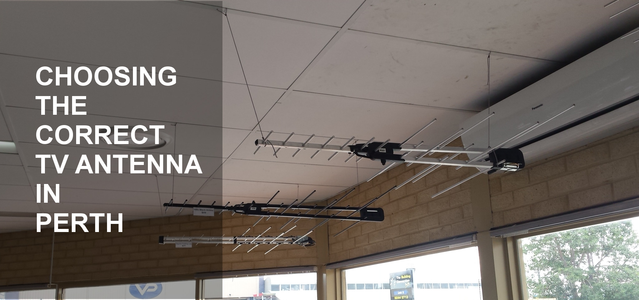 Choosing the Correct TV Antenna in Perth
