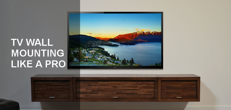 Wall Mount Your TV Like a Pro